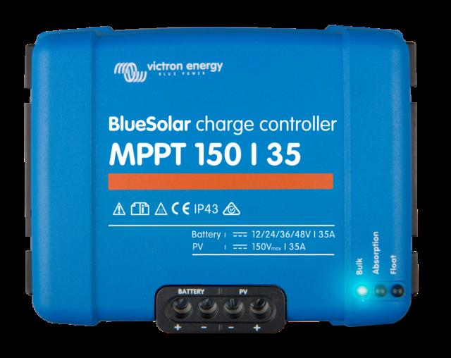 Victron Mppt 150/35 Bluesolar Solar Controlador de Carga 35A