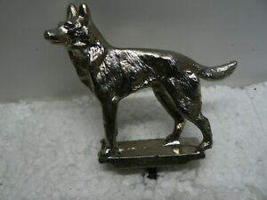 Heavy-Metal-Canine-Dog-Statue-Figurine-Sculpture-Award-General-Breed-Silver