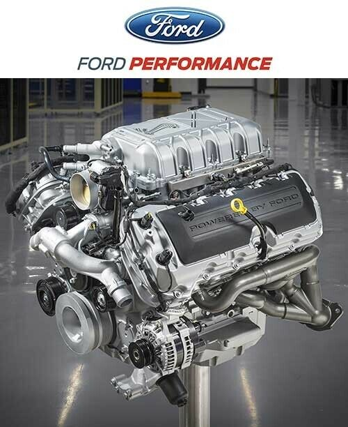 2021 Shelby GT500 Ford OEM M-6007-M52SC 5.2L Supercharged 760hp Crate Engine