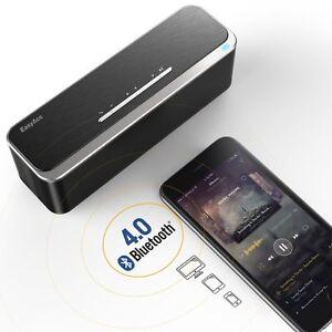 Bluetooth-4-0-EasyAcc-20W-Kraftvoll-Tragbarer-Wireless-Lautsprecher-AUX-Input