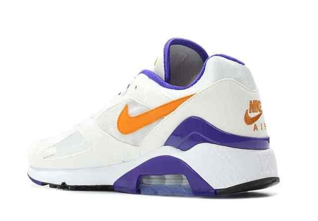 "Brand New Air Max 180 ""Bright Ceramic"" Men's Fashion Sneakers [615287 101]"