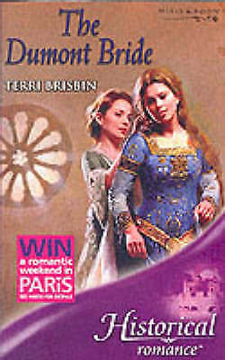 """AS NEW"" The Dumont Bride (Historical Romance), Brisbin, Terri, Book"