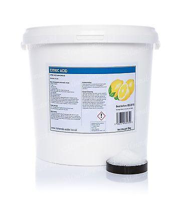 Ácido cítrico 250 g aditivos alimentarios e330 limpieza