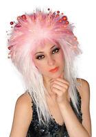 White Fiber Optic Costume Wig - Costume Wigs