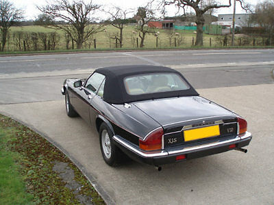 Jaguar XJS Soft Top Convertible Car Hood.