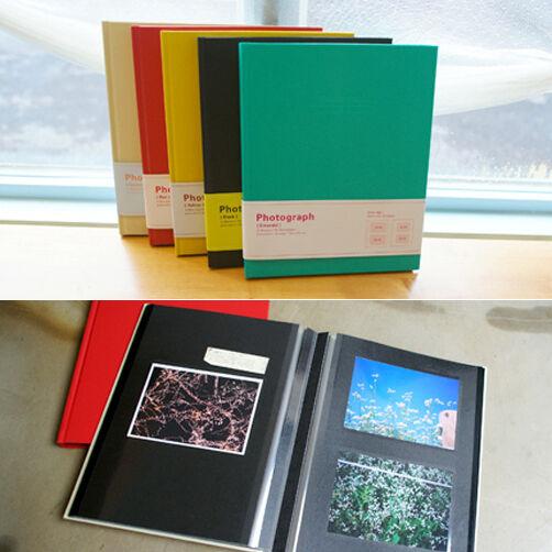 DOA PHOTOGRAPH_Self-Adhesive Photo Album_60 Pictures for 3x5 4x6 5x7 6x8