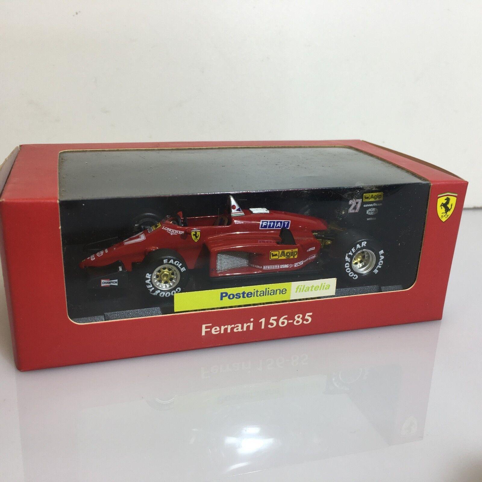 selección larga Modellino Ferrari 156-85 Michele Michele Michele Alboreto  27 - Mattel 2009 - Boxed scale 1 43  la mejor oferta de tienda online