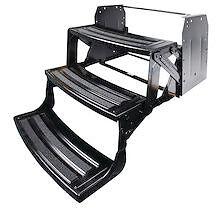 "Lci Lippert Triple 3 Steps 9"" Rise Folding RV Camper Radius Style 24"" 177401"