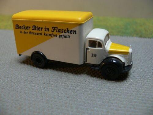 1//87 Brekina MB 311 Becker Bier in Flaschen Koffer Sondermodell Reinhardt