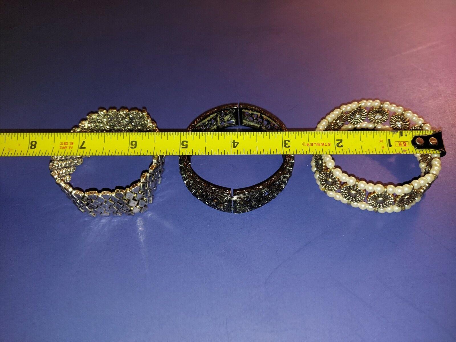 Bracelet Lot, Costume Jewelry - image 3
