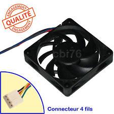 Ventirad ventilateur AVC Ref: DA07015T12U 70x70x15MM 4fils 12V 0.7A