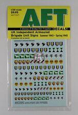 Archer 1/35 UK Independent Armoured Brigade Unit Signs (1943 - 1945) AR77027