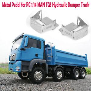 Lesu-DIY-de-metal-de-pedal-RC-1-14-Man-tgs-hidraulicos-camiones-de-volteo-kipper-modelo