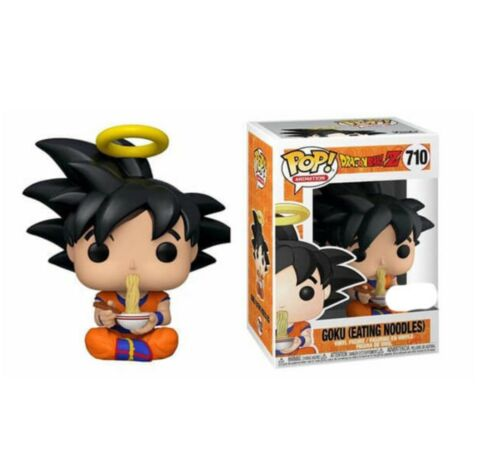 VINYL FIGURE PREORDER DRAGON BALL Z GOKU EATING NOODLES EXC POP