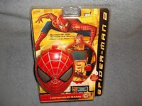 2004 Mga Entertainment Spiderman 2 Handheld Electronic Game - In Package