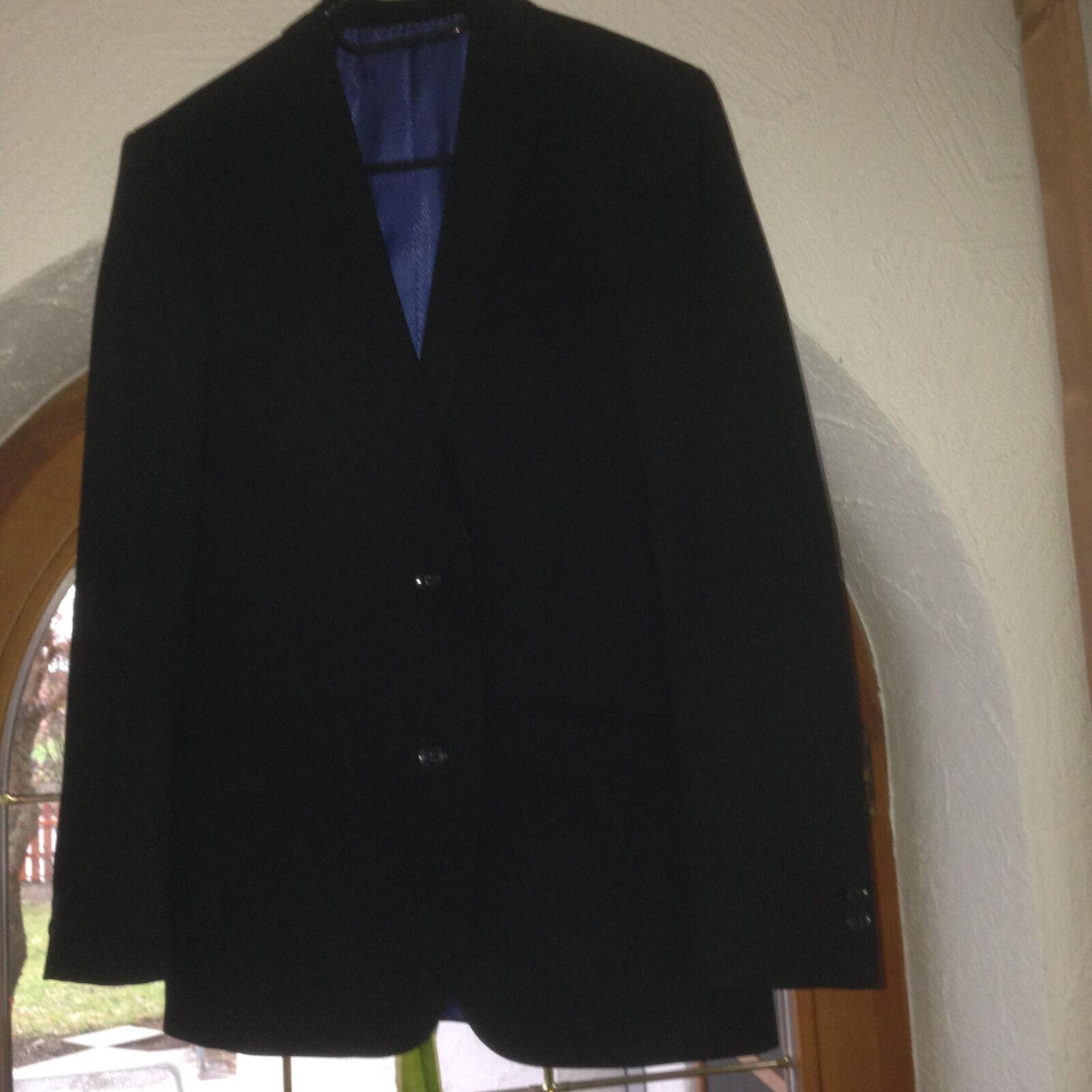 Jungen-Anzug Gr. 40, schwarz,