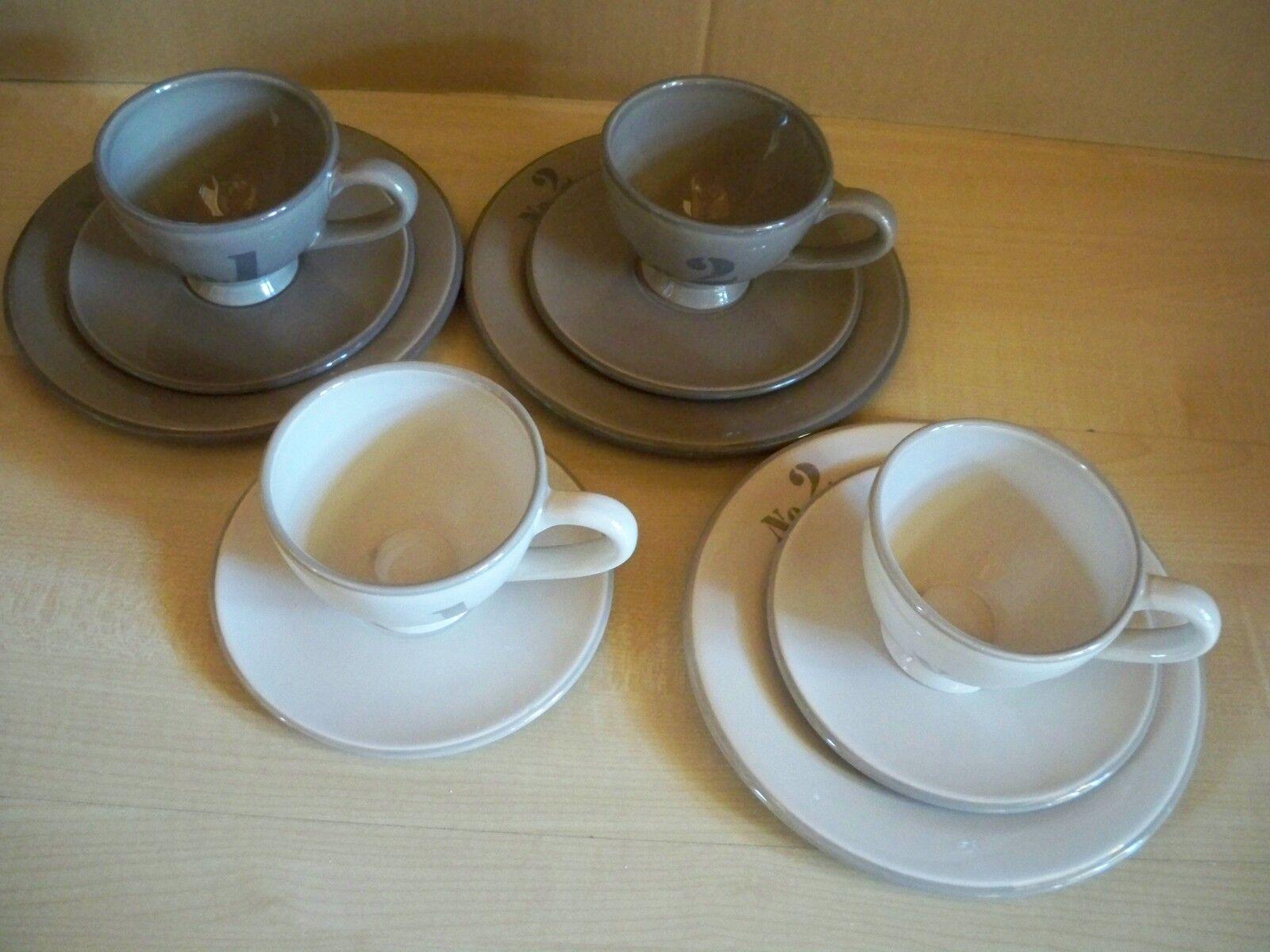 IMPRESSIONEN- Porzellan- Kaffeeservice 11 teilig  Numbers     | Economy