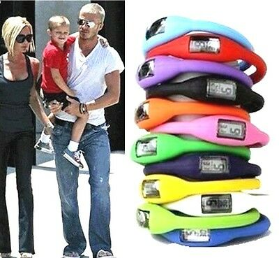 FD499 New Silicone Ion Jelly Rubber Bracelet Wrist Sports Watch Wholesale 1pc