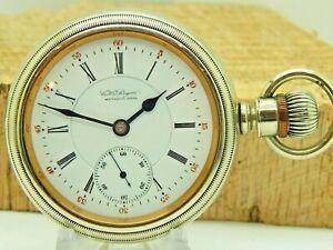 Serviced Antique Pocket watch illinois Model 4 grade 183 16 size 15 jewel @ 1899