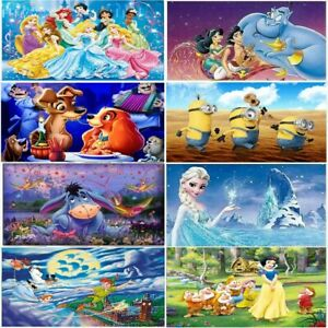 5D-Diamond-Painting-Disney-Cartoon-Characters-Picture-Full-Drill-Craft-New-Sale