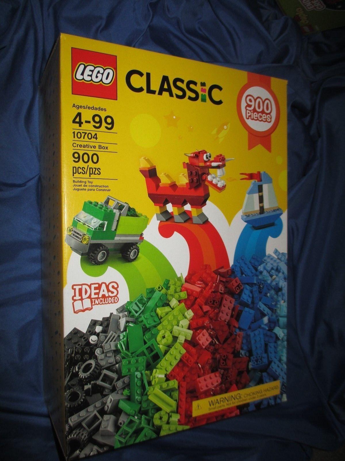 LEGO CLASSIC Ideas Creative Box Set Set Set (Cars Dragon Boat+)  NEW SEALED    286ac5