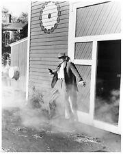 VIOLENT SATURDAY shoot out still LEE MARVIN -- (n804)