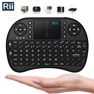 Rii-i8-Black-Mini-2-4GHz-Wireless-Keyboard-Touchpad-for-XBox-360-PS3-Android-TV