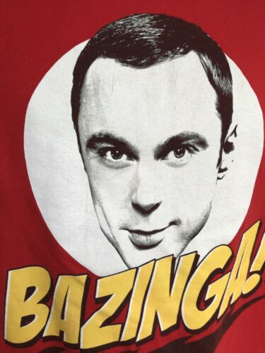Big Size 2xL The Big Bang Theory T Shirt Sheldon (