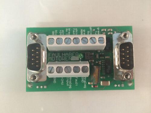 Faulhaber Motoren Motion Control Input//Output Board 9941