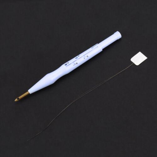 Adjustable Punch Stitching Kit Rug Yarn Embroidery Pen Felting Threader N YBB