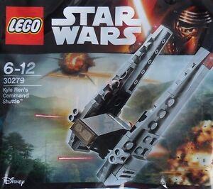 LEGO-star-wars-episode-7-Kylo-ren-039-s-shuttle-30279-43-pieces-en-OVP-coffrets