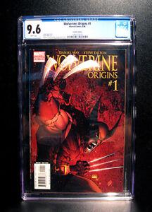 COMICS-Marvel-Wolverine-Origins-1-2006-M-Turner-variant-cover-CGC-9-6