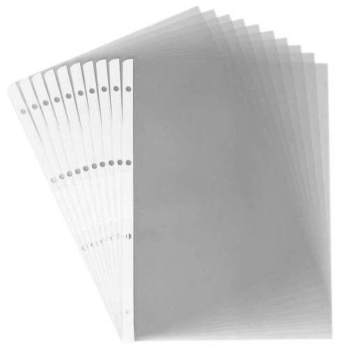 10 HETZEL A4 Prospekthüllen Nr. 277214 OHP-Präsentationshülle glasklar 0,09 mm | Am praktischsten  | Lebendige Form  | Spaß