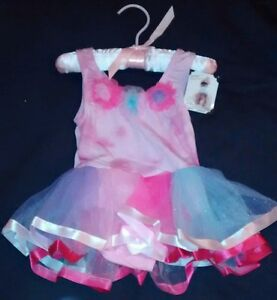 NWT-Baby-Girl-by-Princess-Expressions-Tutu-Dress-Photo-Costume-Size-12-24mo