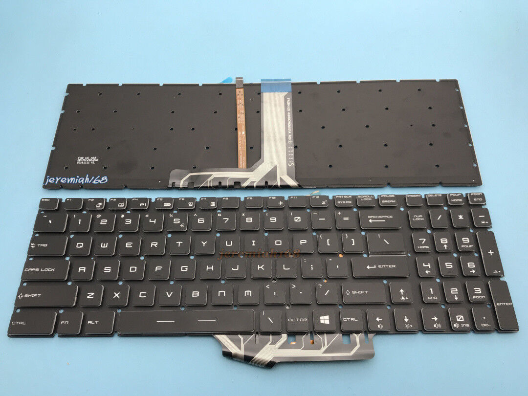 Original New For MSI GS70 2QD GS70 2QF GS70 2QE English Keyboard Full Backlit