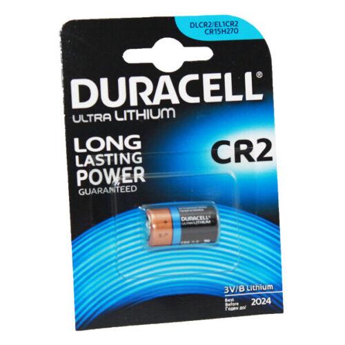 Batería de la batería de Litio Foto Duracell CR2 x2