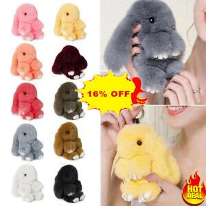 Fashion-Bunny-Keyring-Soft-Real-Fluffy-Rabbit-Fur-Hand-Bag-Pendant-Charm-Pompom