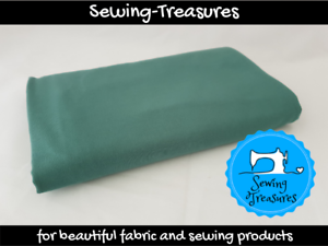 Soft Green ~ Solid Plain Cotton Lycra Fabric Stretch Knit Fabric