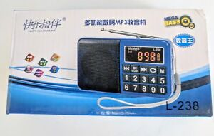Digital-Display-FM-Radio-MP3-Player-for-SD-Card-Rechargeable-Silver-Black