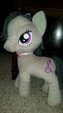 "12"" My Little Pony 2013 Hasbro Octavia plush gray pink bow music note #F8"