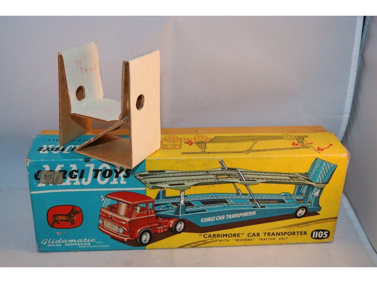 Corgi Toys 1105  Carrimore  Car Transporter Transporter Transporter complete empty original box 9c108d