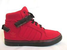 Adidas Adi-Rise Canvas Light Scarlet Black G47869  Men's Basketball Shoes US 7.5