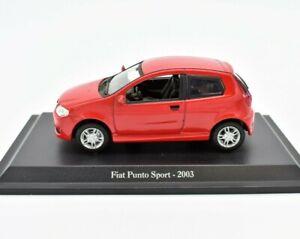 Model-Car-Fiat-Punto-Sport-2003-Scale-1-43-diecast-NOREV-modellcar-Static