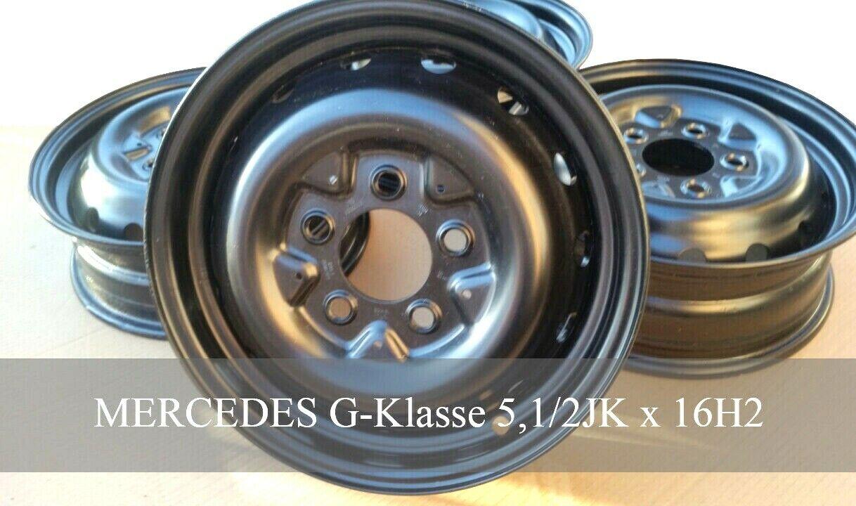 Stahlfelgen Mercedes G Klasse 5,1 2JKx16H2 ET63 460 461  4604000302