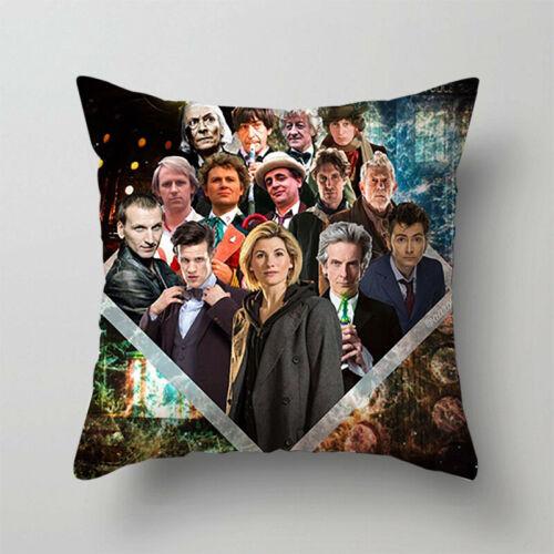 TV Doctor Who Pillowcase DW Pillows Cover Bedroom Sofa Car Waist Pillows Case