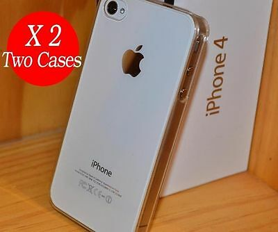 See Through Cover Case for Apple iPhone 4S 4