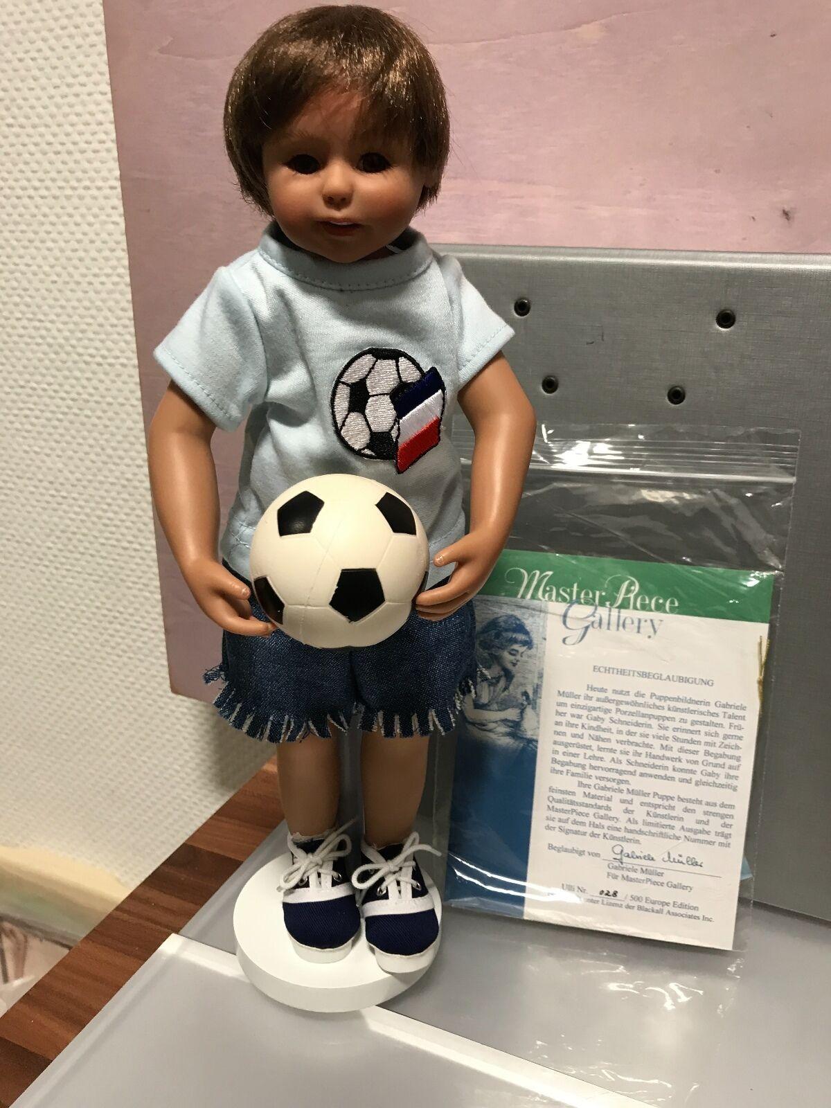 Gabriele Müller vinile bambola Ulli 34 CM. OTTIMO stato