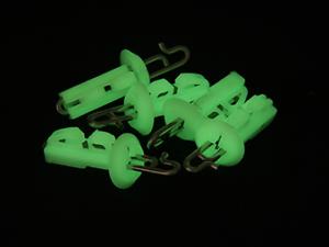 5 Per Pack Gemini Glow In The Dark Splash Down Solo Bait Clips