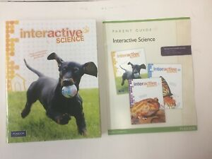 Interactive-Science-Grade-1-by-Pearson-Homeschool-Bundle-incl-Teacher-Ed-NEW