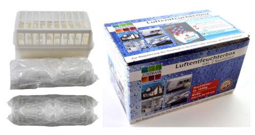 Luftentfeuchter Granulat Vliesbeutel XXL Box mit 2 x 1,2 Kg Raumentfeuchter A